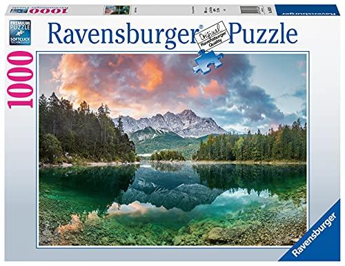 Ravensburger Puzzle 1000 Teile - Zugspitze am Eibsee - Puzzle für Erwachsene und Kinder ab 14 Jahren, Puzzle mit Landschafts-Motiv, Amazon Sonderedition [Exklusiv bei Amazon]