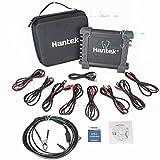 Hantek - Osciloscopio digital DAQ 8CH (generador programable 2.4MSa/s, 12 bits, sonda autoignición)
