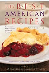The Best American Recipes 2002-2003 Hardcover