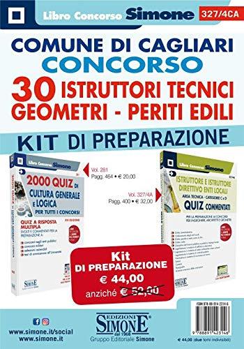 Comune di Cagliari. Concorso 30 istruttori tecnici, geometri, periti edili. Kit di preparazione