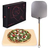 blumtal pietra refrattaria per pizza da forno - pala in alluminio, per forno e barbecue