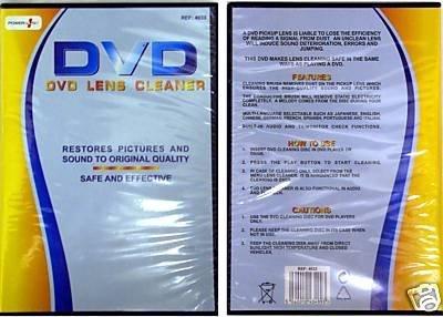 K2- NIEUWE HOGE KWALITEIT DVD LENS CLEANER