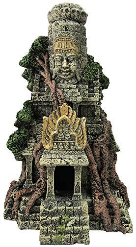 SLOCME Aquarium Large Buddha Statue Temple Decorations - Aquarium Buddha Decor Fish Tank Large Buddha Statue Ornament