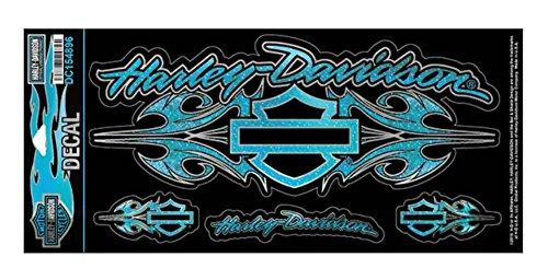 Harley-Davidson stickers, Wild Streak, Glitter