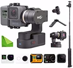 Feiyu WG2 Updated 3-Axis Wearable Waterproof Gimbal for GoPro Hero6 / Hero5 / GoPro Hero4 / Session and Cameras with Similar Dimensions w/ EACHSHOT Cleaning Cloth
