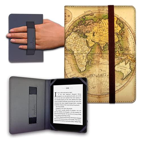 """Funda para Libro electrónico eReader eBook de 6 Pulgadas - Woxter, Tagus, BQ, Energy, SPC, Sony, Inves, Papyre, Wolder, Nolim - 6"""" Universal - elástico (27)"""