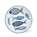 Abbott Collection Round Shallow Dish, 4