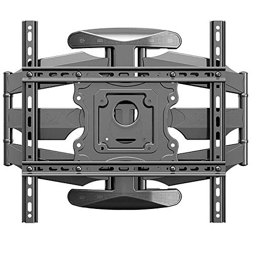 Soporte para TV Soporte Vertical de Acero Inoxidable para Monitor para la mayoría de televisores de 32 a 50 Pulgadas Soporte para Carrito de Pared para TV de hasta 40 kg de Altura inclinable