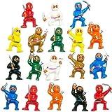 50 Mini Karate Ninjas Warriors Fighters Figures Cupcake Cake Toppers Ninja Kung Fu Guys Martial Arts Men Lot Party Favors