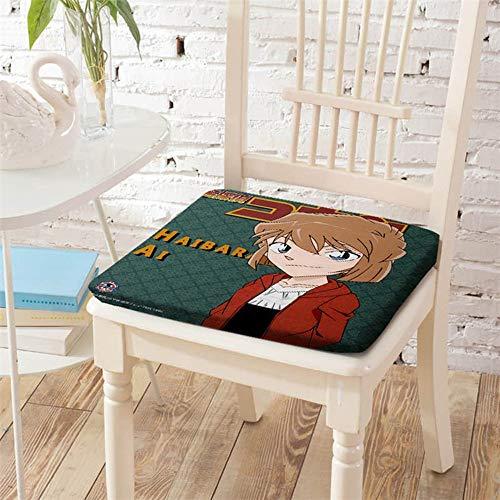 KaiWenLi Detective Conan;Case Closed Anime ammortizzatore della sedia Anita Hailey modello Memory Foam, protezione antisdrucciolevole, tessuto resistente, Superior comfort e morbidezza, lavabile, 15.7