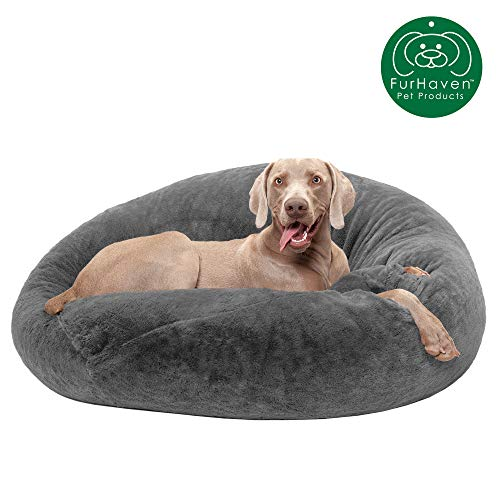 Plush Dog Bed for Large Dogs