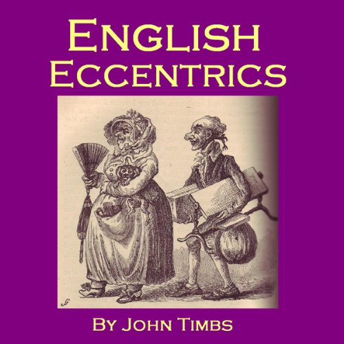 English Eccentrics audiobook cover art