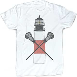 Nantucket T-Shirt | Vintage Faded Lacrosse T-Shirt by ChalkTalkSPORTS