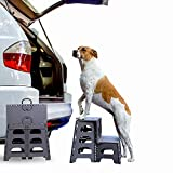 Folding/Portable Dog Steps for Large, Medium and Small...