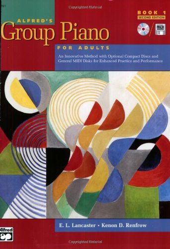 Alfred's Group Piano for Adults, Book 1 (Adult Piano Course)