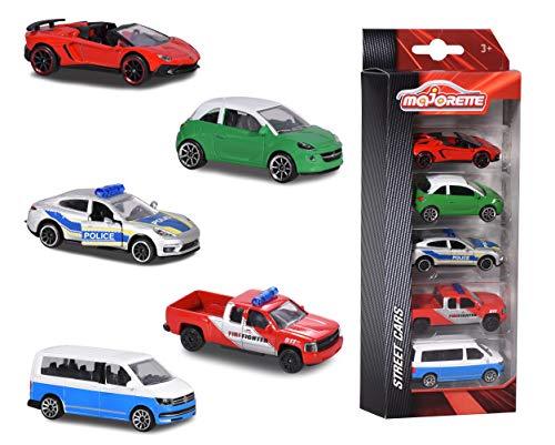 MAJORETTE Set 5 Fahrzeuge