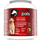 Paws & Pals Dog Vitamins and Supplements, Glucosamine for Dogs, Max...