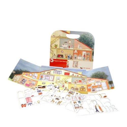 Egmont Toys Magnetic Game House