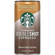 Starbucks Doubleshot Espresso, Salted Caramel, 6.5 fl oz. cans (12 Pack)