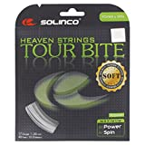 Solinco Tour Bite Soft 4-Sided Poly (Polyester) 17 Gauge / 1.20mm Tennis Racquet String Sets 2-Pack (2 Sets Per Order) - Best for Spin, Control, and Durability