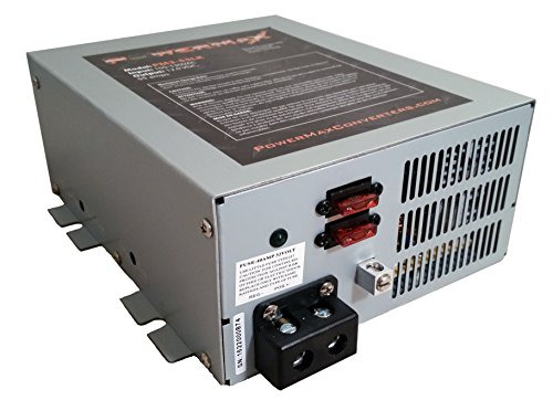 Powermax PM4 45A 110V AC to 12V DC 45 Amp Power Converter with Built-in 4 Stage Smart Battery Charger