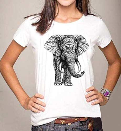 HNKPWY Zomer Stijl Vrouwen T-shirt Lippen Tops Patroon Topjes Losse T-shirt