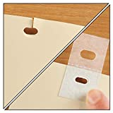 25 Sets (50 Pieces) of Clear Vertical Blind Repair Tabs /Vertical Blind Tabs/Blind Fixers Pre Cut Vertical Blinds Replacement slats Ready to use...