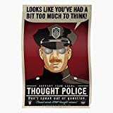 Generic Police Big INGSOC Thnkpol Orwell Thought Brother
