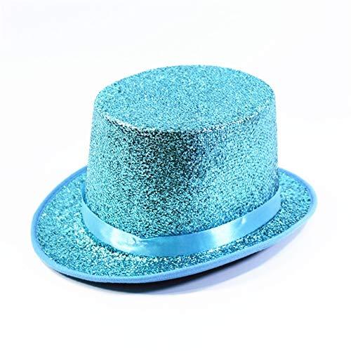 sknonr Sombrero de Copa del Sombrero del Jazz de Alta Sombrero del...