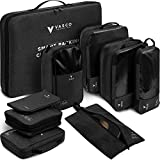 VASCO - Compression Travel Packing Cubes Set (Black New)