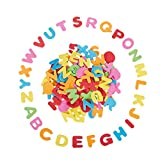 Foam Stickers, Self-Adhesive Alphabet Letters for Kids, 1300 Pieces (0.87 x 1 in)