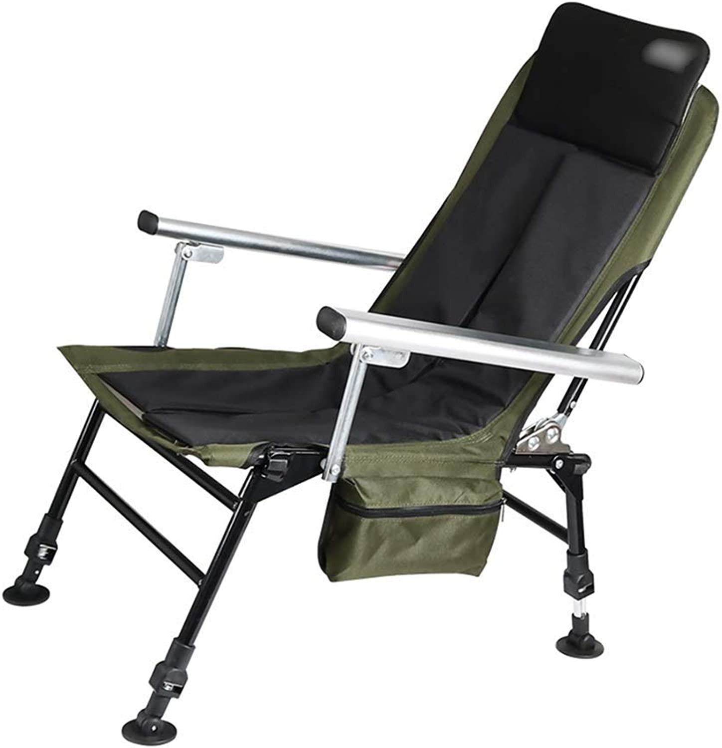 Camping & Hiking Fishing Chair Folding Portable Outdoor Chair Multifunctional European Seat Available in All Seasons Adjustable Height Load 200kg