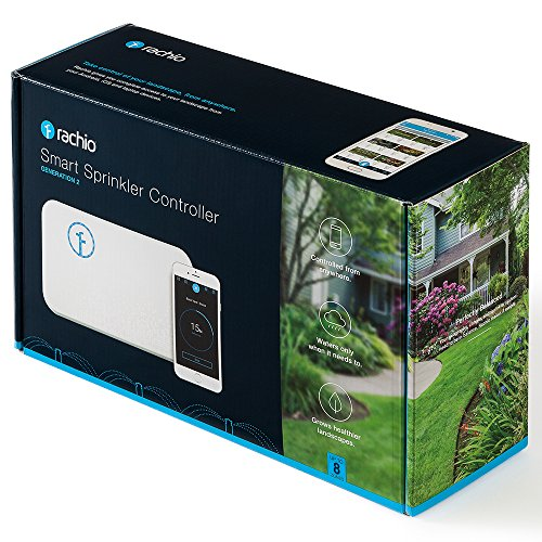 Rachio Smart Sprinkler Controller, 8 Zone 2nd Generation, Works with Amazon Alexa