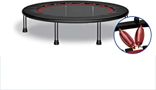 Trampoline Fitness Trampoline with Handles, Foldable Backboard Aerobic Training for Adults And Children (maximum Load 150k...
