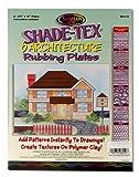 Melissa & Doug Shade-Tex Rubbing Plates - Architecture Set...