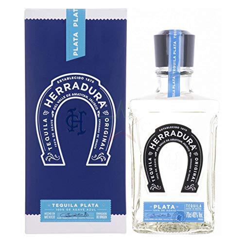 1 Flasche Tequila Herradura Plata - 100% Agave - 40% Vol. (1 x 0.7 l) / 45 Tage Fassreife/Amerikanische Weißeiche