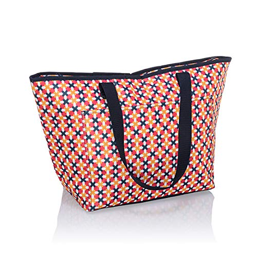 Thirty One Tote-ally Thermal - 8257 - No Embroidery in Tropical Twist
