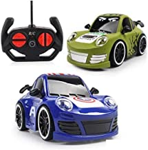 Radhey Preet® 4 Channel Remote Control Car, and Different Design, for 3+ Years of Children, Battery Operated (Batteries ar...