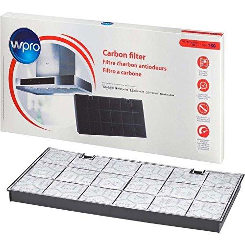 Koolstoffilter type 150 voor afzuigkap Whirlpool (484000008580)