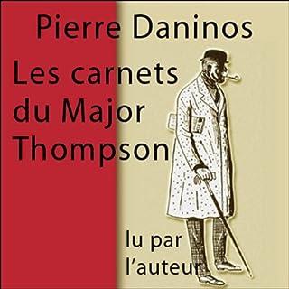 Couverture de Les carnets du major Thompson