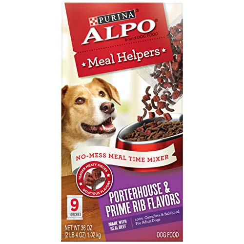 Purina ALPO Dry Dog Food, Meal Helpers Porterhouse...