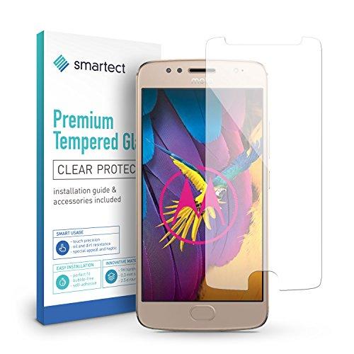 smartect Panzerglas kompatibel mit Motorola Moto G5s [2 Stück] - Bildschirmschutz mit 9H Härte - Blasenfreie Schutzfolie - Anti Fingerprint Panzerglasfolie