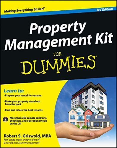 Real Estate Investing Books! - Property Management Kit For Dummies