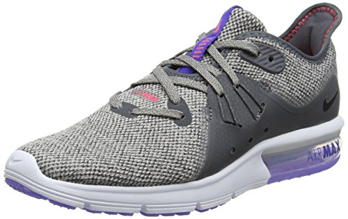 Nike Women's Running Shoes, Grey Dk Grey Black Moon Particle 013, 7.5 us