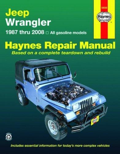 Jeep Wrangler, 1987-2008 (Haynes Repair Manual)