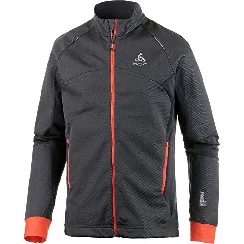 Odlo Herren Skifahren Jacke Jacket Frequency 2.0 Windstopper Bekleidung Graphite Grey, XXL