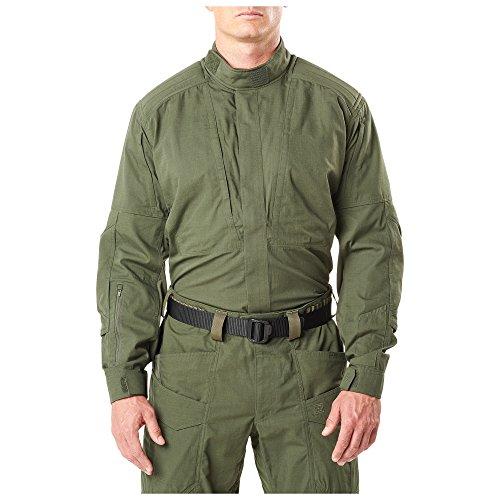 5.11 Tactical Series 511-72091 Chemise Tactique de Service Homme, Noir, FR (Taille Fabricant : XL)