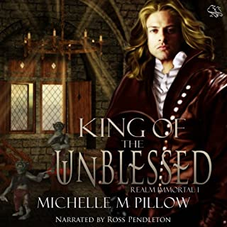 King of the Unblessed audiobook cover art