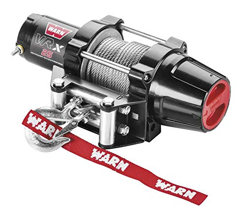 Review New Warn VRX 2500 lb Winch & Model Specific Mount – 2000-2007 Yamaha 400 Big Bear 4×4 ATV