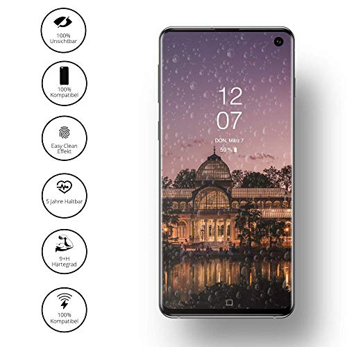 GLAZ Liquid 2.0 Flüssiger Displayschutz geeignet für Samsung S10e / S10 Panzerglas, Schutzfolie, Full Screen Abdeckung, Blasenfrei, Unsichtbar, In-Display-Fingerabdrucksensor kompatible